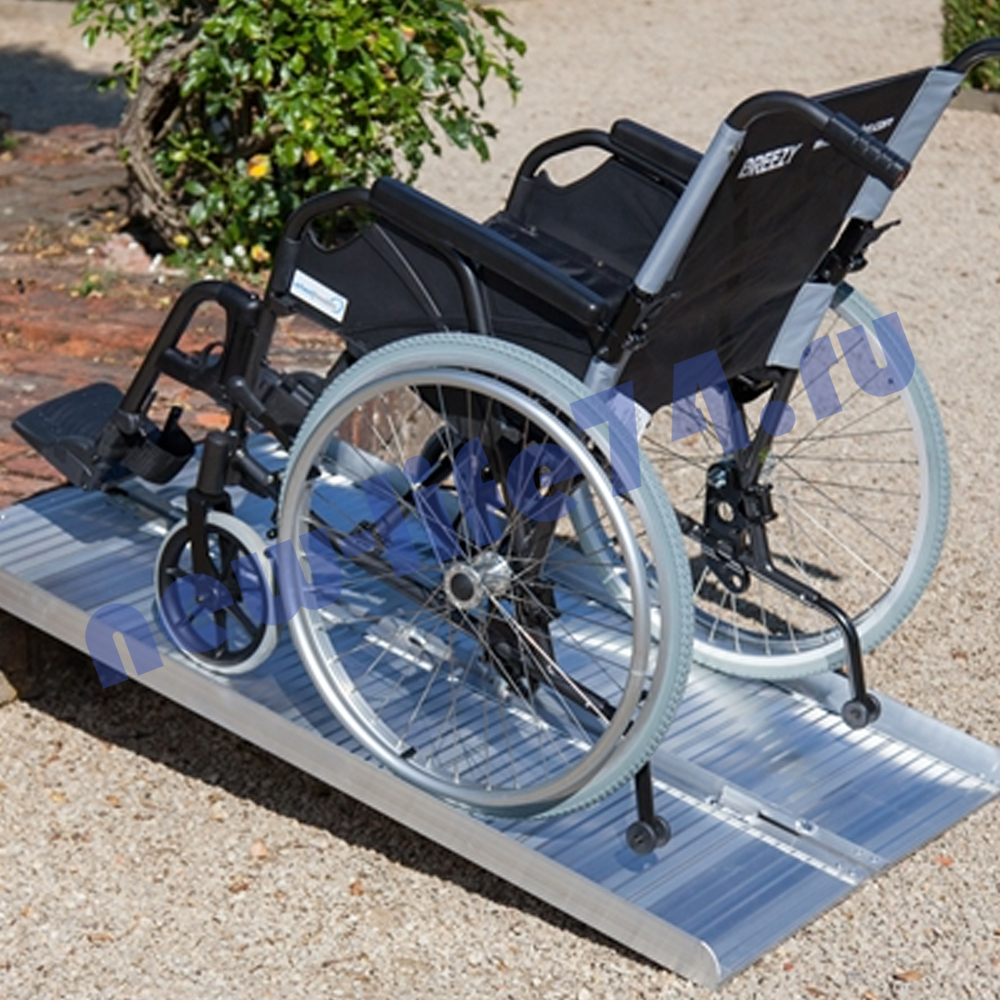 Пандус телескопический для инвалидов