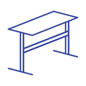 Столы с регулировкой по высоте