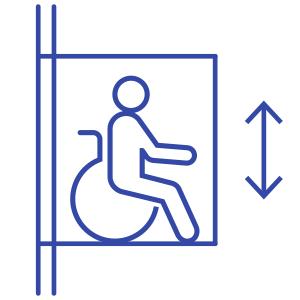 Подъемные платформы, лифты