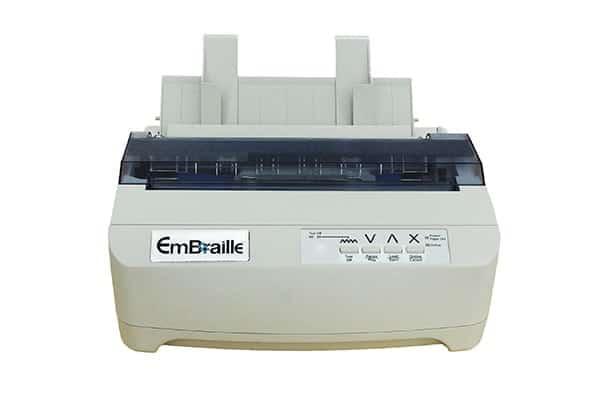 Принтер для печати рельефно-точечным шрифтом Брайля