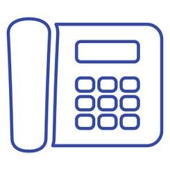 Телефон с большими кнопками (Брайль)